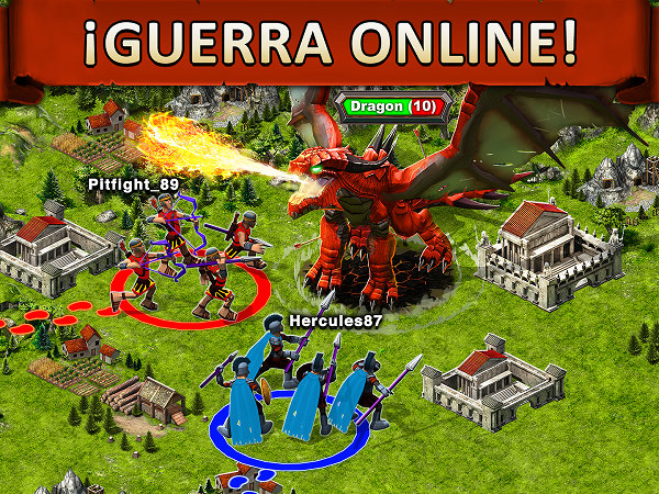 Game of War Juego de Guerra