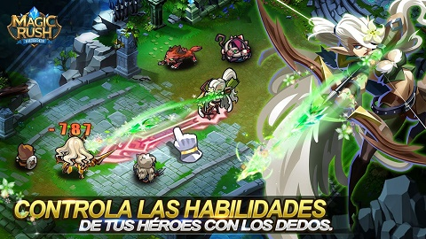 Juego android Magic Rush