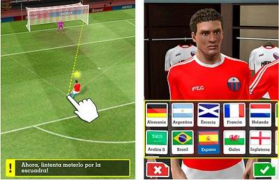 juego futbol android