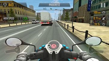juego de motos en la calle