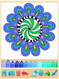 Páginas para colorear Mandala