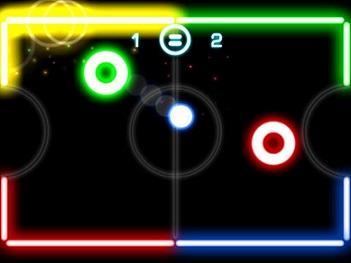Glow Hockey 3