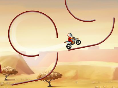 Realiza los saltos más altos con Bike Race Free by Top Free Game 4