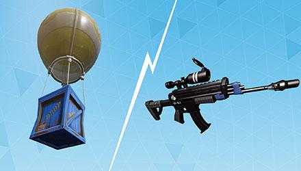 Nuevas armas y Funcionalidades en Fortnite